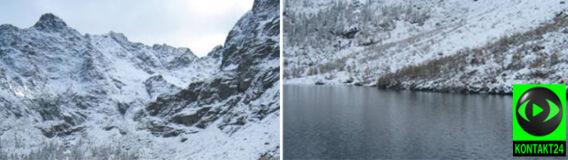 W Tatrach Wysokich zima, w Bieszczadach jeszcze jesień
