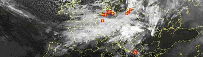 Lokalne burze w całej Polsce