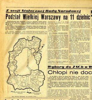 Życie Warszawy o nowych dzielnicach stolicy