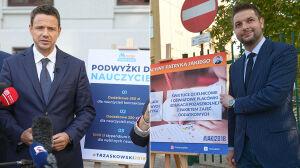 """Trzaskowski krytykuje """"deformę"""", Jaki obiecuje świetlice i diety"""