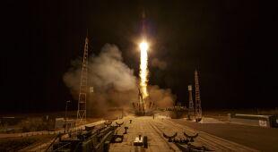 Start Sojuza w Kazachstanie (PAP/EPA)
