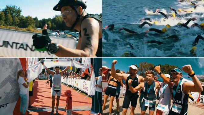 1,9 km pływania, 21,1 biegu i 90 rowerem. 2300 zawodników wystartuje w Sierakowie