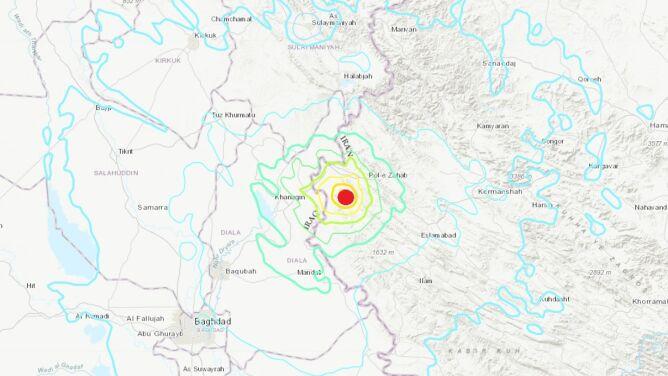 Ziemia zatrzęsła się w Iranie i Iraku. Dwoje zabitych, setki rannych
