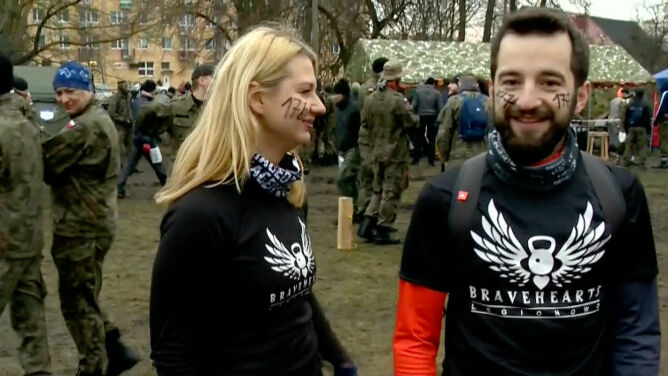 """Ruszył ekstremalny """"Bieg Tygrysa"""" na terenie <br />karnej jednostki wojskowej w Orzyszu"""