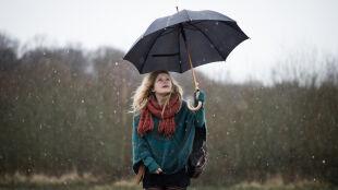 Deszcz, deszcz ze śniegiem i śnieg. W pogodowym pakiecie też silny wiatr