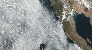 Wiry Theodora von Kármána uchwycone na zdjęciu satelitarnym